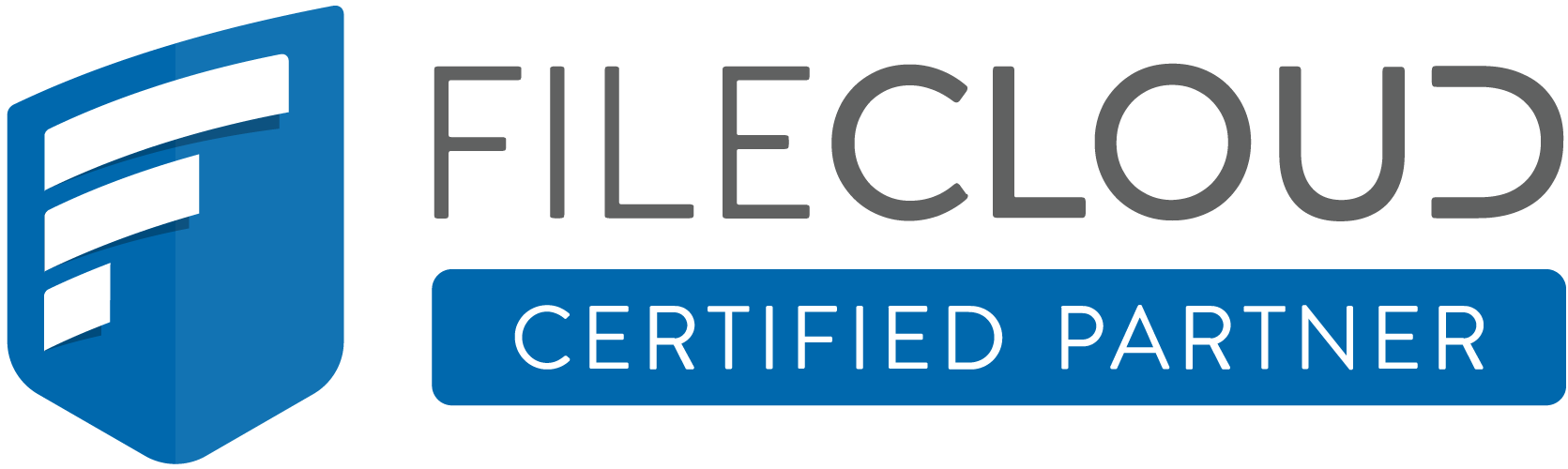FILECLOUD Certified Partner Logo for Cloud Services for Business